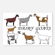 ALL Dairy Does Postcards (Package of 8)