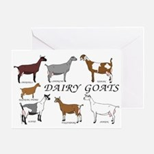 ALL Dairy Does Greeting Card