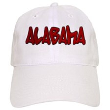 Alabama Graffiti Baseball Cap