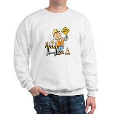 Funny Construction Sweatshirt