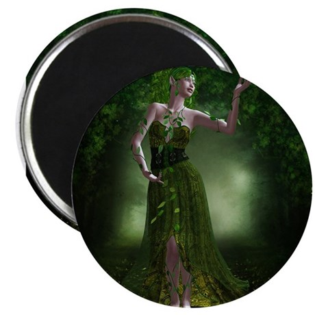 """Green Fae 2.25"""" Magnet (10 pack)"""