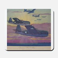 Grumman F-6 Hellcat Mousepad