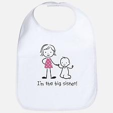 Big Sister - Stick People Bib