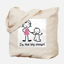 Big Sister - Stick People Tote Bag