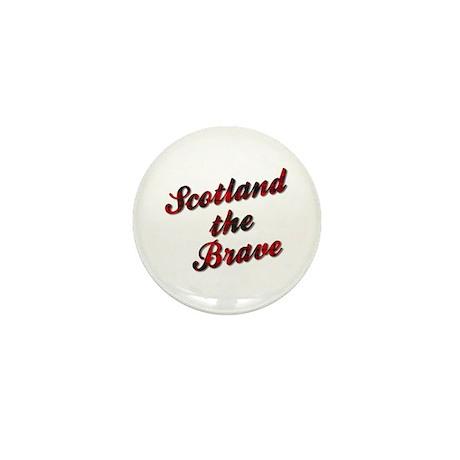 Scotland the Brave Mini Button