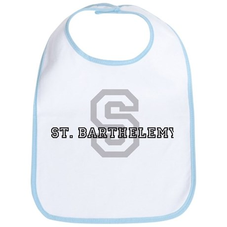 Letter S: St. Barthelemy Bib