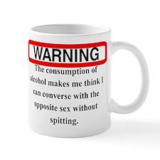WARNING SPIT Mug