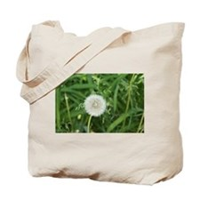 flower power dandelion Tote Bag