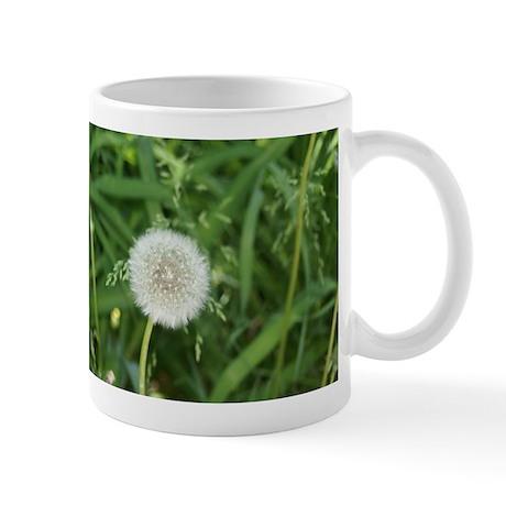 flower power dandelion Mug
