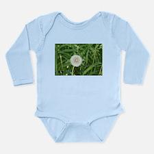flower power dandelion Long Sleeve Infant Bodysuit