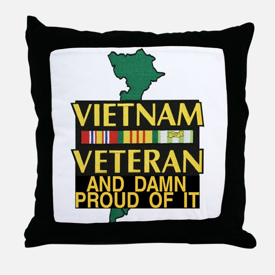 VIETNAM PROUD OF IT Throw Pillow