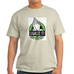 Legalize It Grey T-Shizzle
