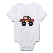 Monster Truck Infant Bodysuit