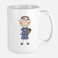 Male Doctor Large Mug