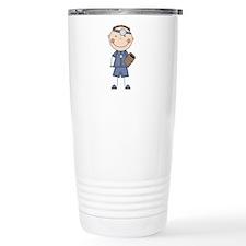 Male Doctor Travel Mug