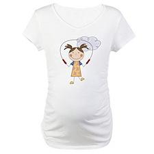 Girl Jumping Rope Shirt