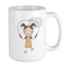 Girl Jumping Rope Mug