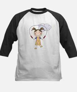 Girl Jumping Rope Tee