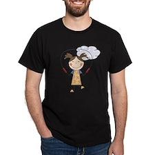 Girl Jumping Rope T-Shirt