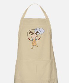 Girl Jumping Rope Apron