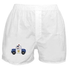 Police Officer in Cruiser Boxer Shorts