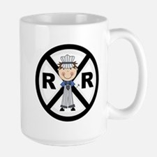 Railroad Conductor Large Mug