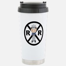 Railroad Conductor Stainless Steel Travel Mug