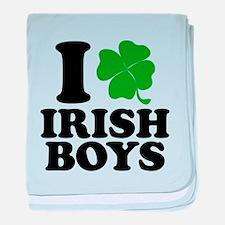 Irish Boys baby blanket