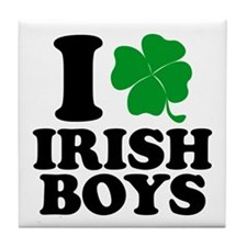 Irish Boys Tile Coaster