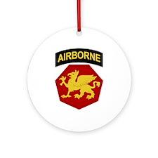 Golden Griffins Ornament (Round)