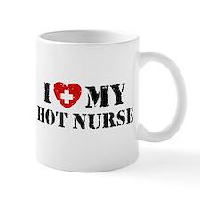I Love My Hot Nurse Mug