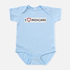 I Love Medicare Infant Creeper