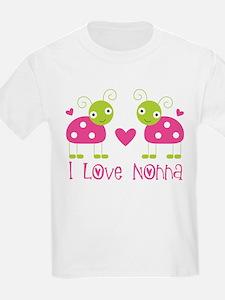 I Love Nonna Ladybug T-Shirt