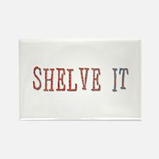 shelve it Rectangle Magnet
