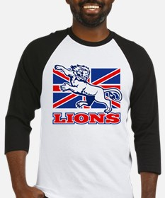 British Lions Rugby Baseball Jersey