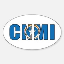 CNMI Sticker (Oval)
