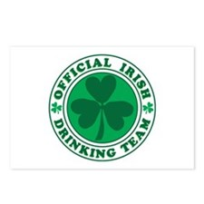 Official IRISH Drinking T Postcards (Package of 8)