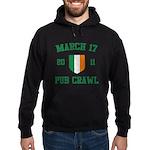 March 17 2011 Pub Crawl Hoodie (dark)