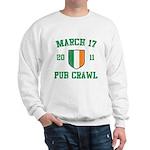 March 17 2011 Pub Crawl Sweatshirt