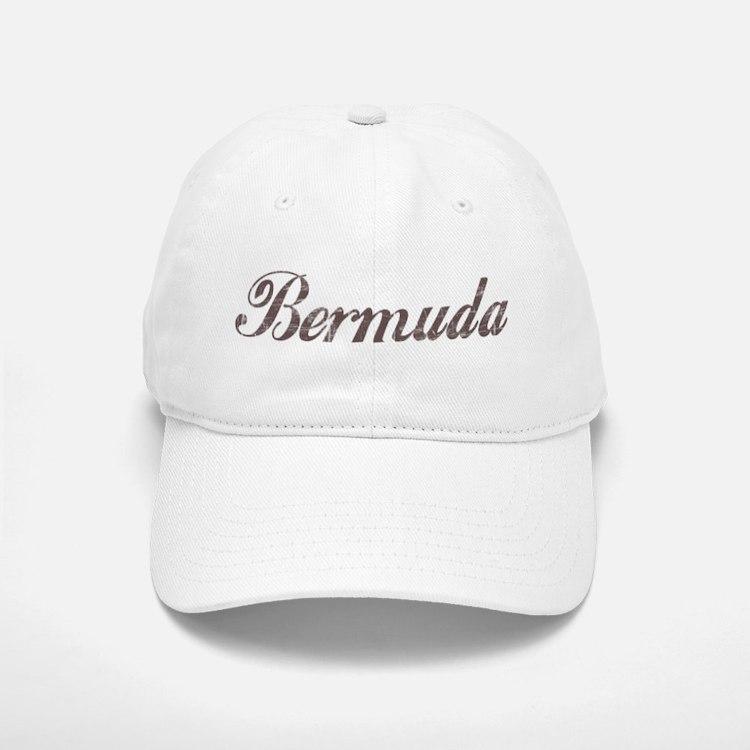 Vintage Bermuda Baseball Baseball Cap