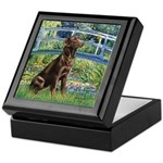 Bridge / Labrador (Choc) Keepsake Box