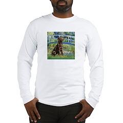 Bridge / Labrador (Choc) Long Sleeve T-Shirt