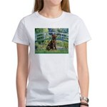 Bridge / Labrador (Choc) Women's T-Shirt