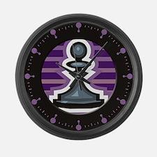 Chess Large Wall Clock