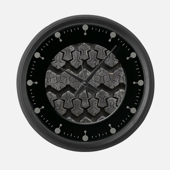 Tire Tread Large Wall Clock