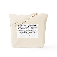 I 'heart' tennis Tote Bag