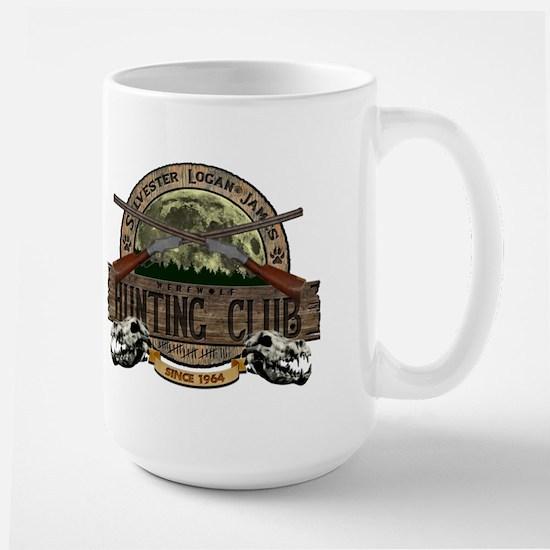 Werewolf Hunter Large Mug