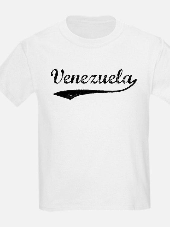 Vintage Venezuela Kids T-Shirt