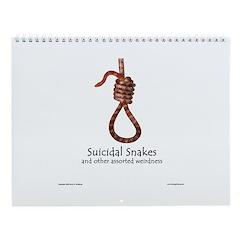 Suicidal Snakes Wall Calendar