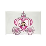 Cute Fairytale Princess in Carriage Magnet (10 Pk)